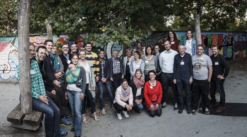 Teilnehmer der Jahrestagung 2017 am Dathe-Gymnasium in Berlin