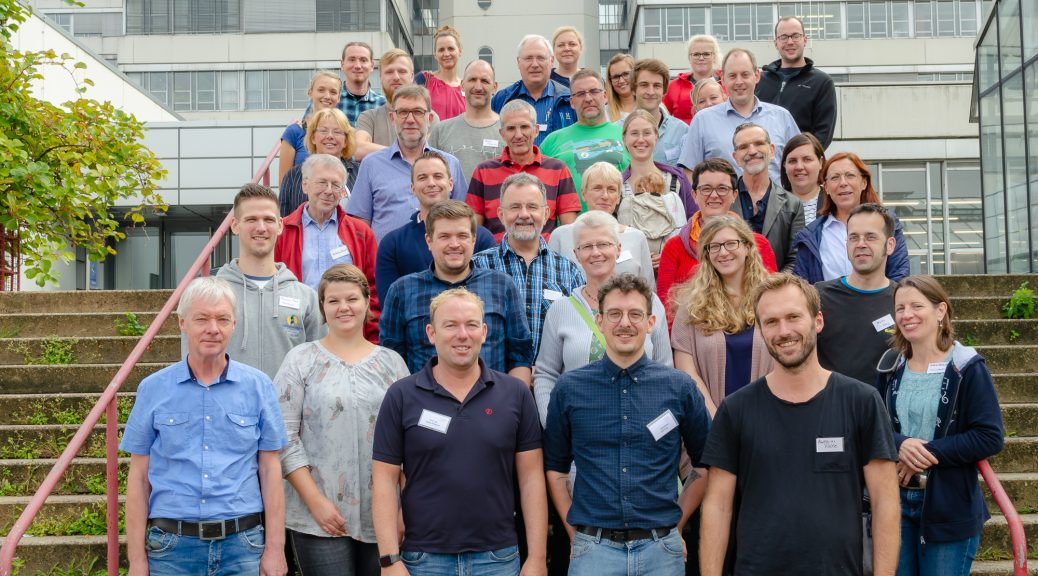 Teilnehmer der Jahrestagung 2018