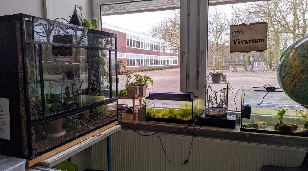 Vivarium am Gymnasium Eversten Oldenburg